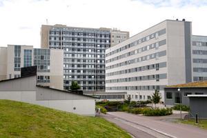 Sjukhuset i Västerås.