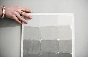 Det krävs eftertanke för att åstadkomma den perfekta paletten av grått.