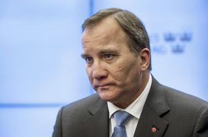 Stefan Löfven (S). Sveriges statsminister.