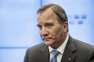 Stefan Löfven (S). Statsminister. Foto: Marcus Ericsson/TT