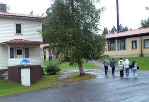 Det konstaterade influensafallet tycks inte ha påverkat stämningen, vare sig på Racklöfska eller Åre gymnasieskola. Där var det i går hur lugnt som helst.