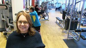 – Vi vill folk ska röra på sig oavsett om de är hos oss, är ute eller hos någon annan aktör, säger Annette Annuswer på Friskis&Svettis i Östersund
