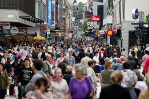 Vi blir fler och fler även i Västernorrland. 790 personer plus hittills i år.