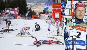 Alpe Cermis har skördag ett och annat offer genom åren. När elfte upplagan av Tour de ski på söndagen når den mytomspunna slalombacken i Val di Fiemme är det Axel Ekströms tur att känna på de 407 höjdmeteran (arkivfoto).