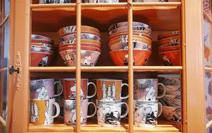 Flera uppmärksammade försäljningar av Muminmuggar har skett i Dalarna under året, enligt Tradera. Bild från Formex 2010.