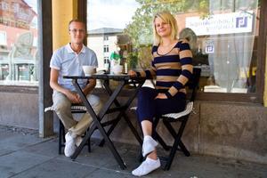 Alexander Sunesson, 26, Stockholm (ursprungligen från Sandviken) och Maxine Sjöblom, 24, Stockholm:– Lady Gaga är den mest intressanta artisten, hon har bra låtar och gör bra konserter, säger Alexander.– Lady Gaga är den enda från USA jag skulle vilja se. Och Madonna, säger Maxine.