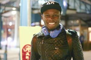 Samuel Mensah är glad över att vara tillbaka i ÖFK och skrev under torsdagen på kontraktet med den allsvenska nykomlingen.