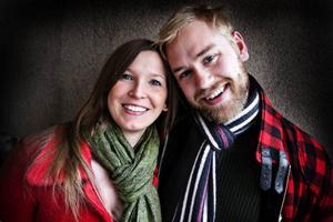 Hedda Hansen Berg och Peter Mellgren.
