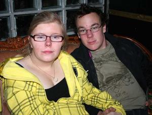 Rock&K Baren. Matilda och Johan