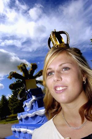 Sofia. Sofia Ersson blev år 2005 den tolfte BD-drottningen sedan nypremiären i Borlänge. Foto:Peter Ohlsson