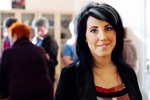 Jessica Wärdell fick i dag ta emot Miljöpartiet i Jämtlands läns miljöpris för 2010.