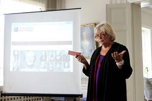 Jämställdhetskämpen Margareta Winberg (S) var en av dem som talade vid starten av kampanjen