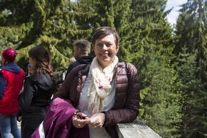 Maria Rosén, ordförande för Rädda Barnen i Ljusdal.