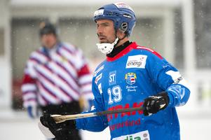Erik Sundin när han spelade i moderklubben Selånger senast.