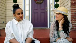 Seinabo Sey och Jill Johnson i det första avsnittet av den andra säsongen av