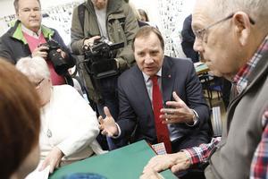 De nya skattesänkningarna för pensionärerna presenterades vid en pressträff i PRO:s lokaler i Järfälla.