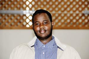 Rague Yussuf, talesperson för Gävle moské.