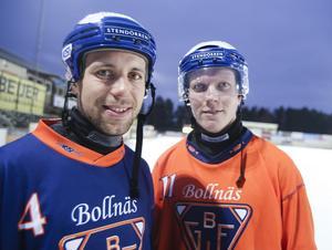 Per Hellmyrs och Daniel Berlin – stjärnor som ger Bollnäs extra lys - och slagkraft.