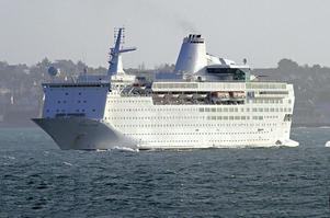 Ocean Gala kommer att  angöra hamnen i Utansjö under tisdagskvällen.