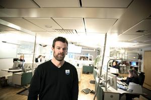 Hans Danielsson, platschef SOS i Falun.
