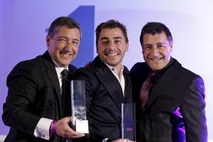 Huvudkocken Joan Roca till höger, med sina bröder Jordi och Joseph Roca. De driver världens bästa restaurang i Spanien