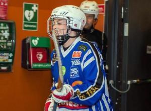 Rut-Lina Berner har snabbt kommit in sig i Villa Lidköping som ser till att ge sitt damlag alla förutsättningar för att lyckas i elitserien. Foto: privat