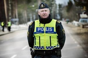 Mikael Hedström, presstalesman för Polisregion Mitt.