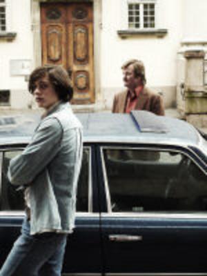 Bildtext: Tillbaka till 1970-talet. Bill Skarsgård och Peter Dalle spelar stora roller i