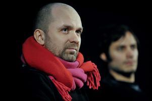 Lukas Moodysson och hans huvudrollsskådis Gabriel Garcia Bernal mötte pressen på Filmhuset i Stockholm.