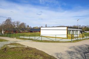 Moduler vid Solgårdens förskola i Skinnskatteberg.