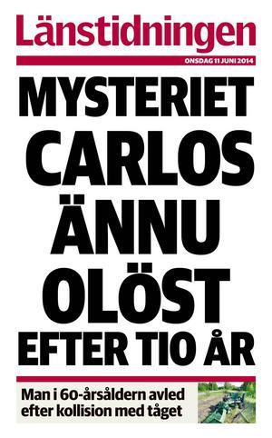 Över tio år har gått först nu kan Carlos Pizarro Cortes komma att dödförklaras.