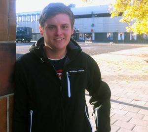 Patrik Heed var hemma i Bollnäs i helgen.
