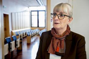 Lena Wahlgren, lagman vid Ångermanlands tingsrätt.