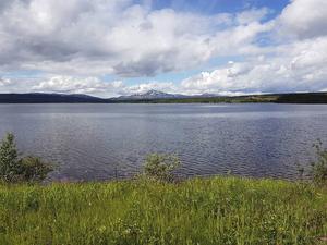 Så här vackert kan det vara längs S:t Olavsleden.
