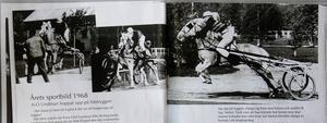 ÖP-fotografen Kjell Bollnert fångade Sven-Olof Lindmans bravader på hästryggen. Det blev Årets sportbild 1968.