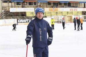 Mattias Eklund, lagledare för Kilbergs femteklassare.