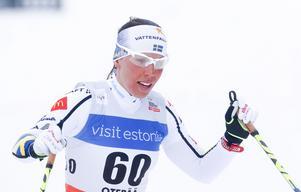 Charlotte Kalla vann VM-brons i skiathlon både 2015 ovch 2017.