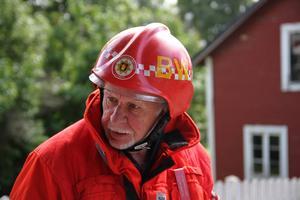 Räddningsledare Bengt-Olov Wennberg.