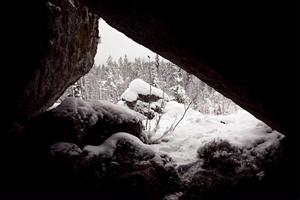 Utsikten från Stenbustan en novemberdag 2012. Det här var vad familjen Andersson upplevde under de fattigaste åren på 1930-talet.