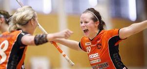 Moa Schillström avgjorde med tre minuter kvar av matchen.