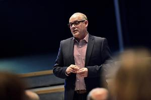Peter Palmqvist är Härnösands nye kommunikationschef.