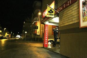 Söders Närköp utsattes för ett rån under tidiga fredagskvällen.