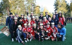 GULDLAGET. Kvarnsveden vann kvalet och är klart för division 1 nästa säsong.FOTO: BONS NISSE ANDERSSON