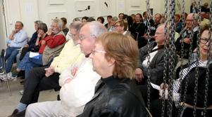 Drygt 80 personer kom till mötet om kulturkvarteret Täljstenen.