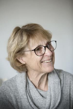 Ulla Renvall bytte stora huset mot en liten tvåa.