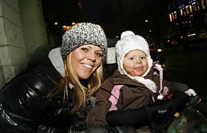 Camilla Svensson ville ha ett ovanligt namn på sin tjej. Det blev Amina Miyo Matilda.