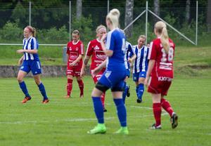 Cassandra Löfqvist blev tvåmålsskytt i derbyt mot Avesta.