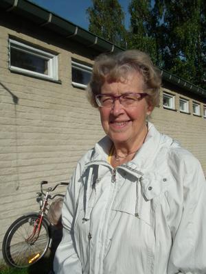 Kerstin Thors, Sollefteå:– Man skall rösta. Det är viktigt för demokratin.