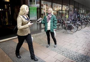 Familjeredaktören Ulrika Rudberg fångar en läsare.