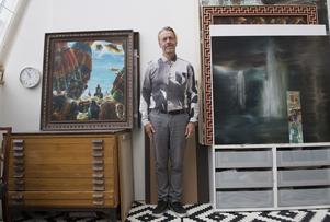 Ernst Billgren är både aktad konstnär och känd medieprofil. Just nu är han aktuell i tv-serien